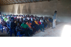 The-HCD-officer-on-the-training-of-youths-from-different-wards-in-Biharamulo-district.